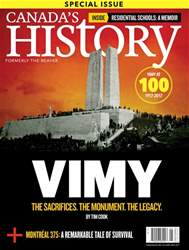Canada's History issue Apr/May 2017