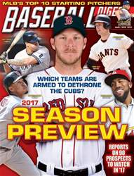 Baseball Digest issue March/April 2017