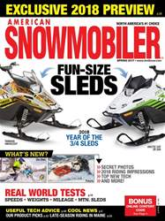 American Snowmobiler issue March 2017