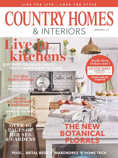 Country Homes Interiors Magazine April 2017