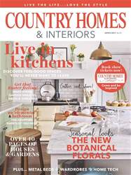 Country Homes & Interiors issue April 2017