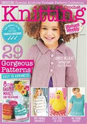 Knitting & Crochet issue Apr-17