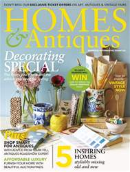 Homes & Antiques Magazine issue April 2017