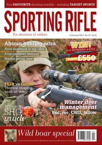 Sporting Rifle issue 73