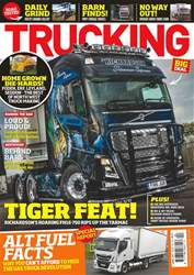 Trucking Magazine issue No. 401 Tiger Feat!