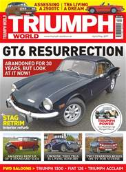 Triumph World issue No. 165 GT 6 Resurrection