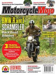 Motorcycle Mojo issue Motorcycle Mojo