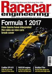 Racecar Engineering issue April 2017