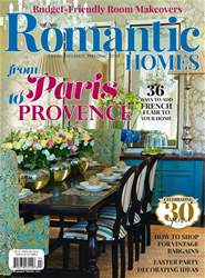 Romantic Homes issue April 2017