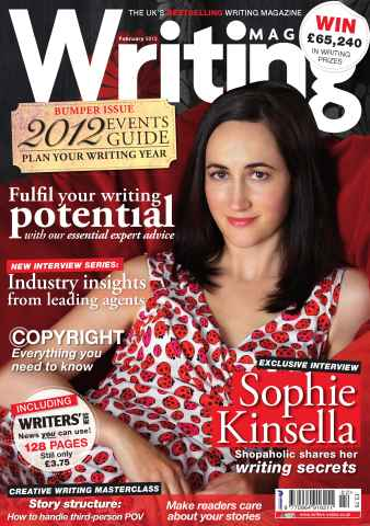 Writing Magazine issue February 2012