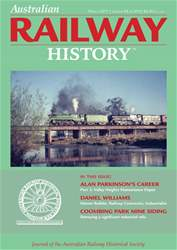 Australian Railway History issue mar17