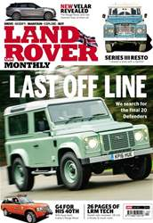 Land Rover Monthly issue Land Rover Monthly
