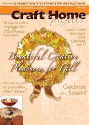 Craft & Home Projects issue Fall 2011
