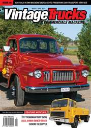 Vintage Trucks & Commercials issue March - April 2017