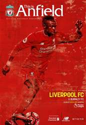 Liverpool FC Programmes issue Liverpool v Burnley 201617