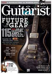 Guitarist issue April 2017