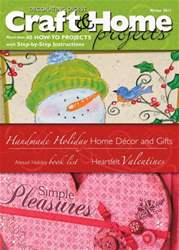 Craft & Home Projects issue Winter 2011