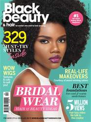 Black Beauty & Hair – the UK's No. 1 black magazine issue Black Beauty & Hair April/May 2017