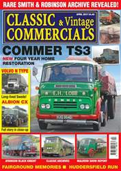 Classic & Vintage Commercials issue Vol. 22 No. 8 Commer TS3