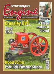 Stationary Engine issue No. 518 Crossley BV1