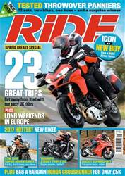 Ride issue May 2017