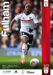 Fulham v Blackburn Rovers 2016-17 issue Fulham v Blackburn Rovers 2016-17