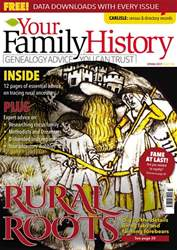 Your Family History issue Spring 2017