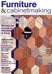 Furniture & Cabinetmaking issue April 2017