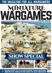 Miniature Wargames issue April 2017