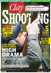 Clay Shooting issue April 2017
