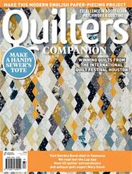 Quilters Companion issue Issue#84 2017