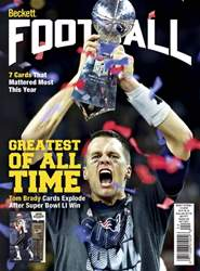 Beckett Football issue April 2017