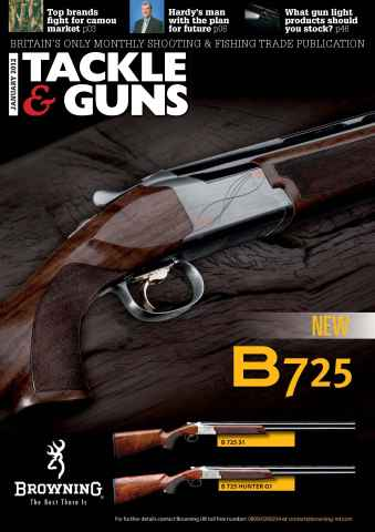 Tackle & Guns issue January 2012