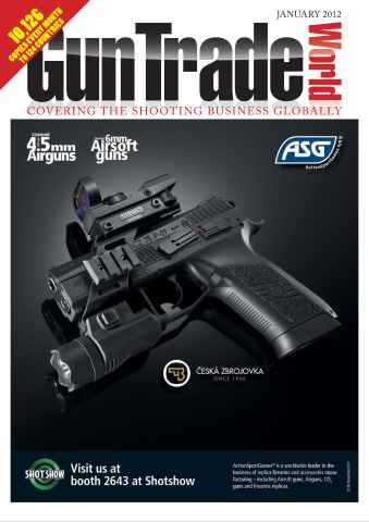 Gun Trade World issue January 2012