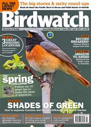 Birdwatch Magazine issue Birdwatch Magazine