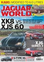 Jaguar World issue No. 183 XK8 vs XJS 6.0