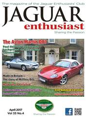 Jaguar Enthusiast issue Vol. 33 No. 3 The Aston Martin DB7