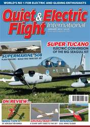 Quiet & Electric Flight Inter issue January 2012