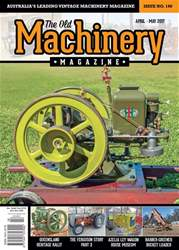 The Old Machinery Magazine issue April - May 2017