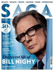 Saga Magazine issue April 2017