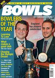 Bowls International issue   April 2017