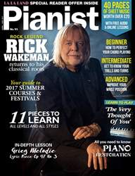 Pianist issue Issue 95 April-May 2017