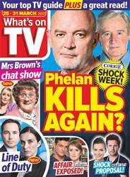 What's on TV issue 25th March 2017