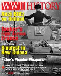 WW2 History Magazine issue April 2017