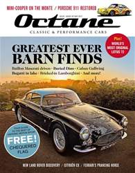 Octane issue May 2017