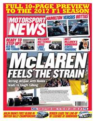 Motorsport News issue Motorsport News