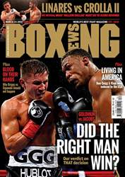 Boxing News UK issue Boxing News UK
