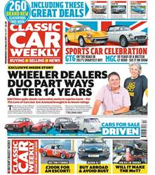 Classic Car Weekly issue Classic Car Weekly