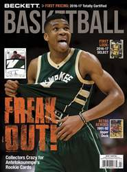 Beckett Basketball issue April 2017