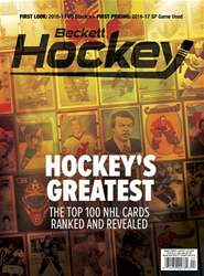 Beckett Hockey issue Beckett Hockey